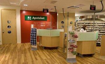Apotheek in Zweden