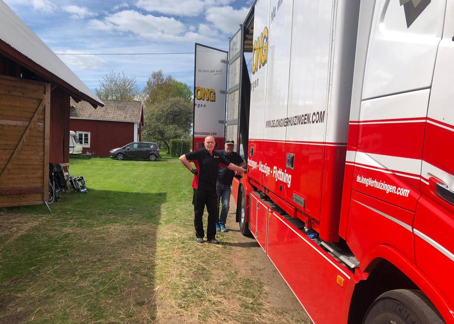 Verhuizen naar Zweden met De Jong